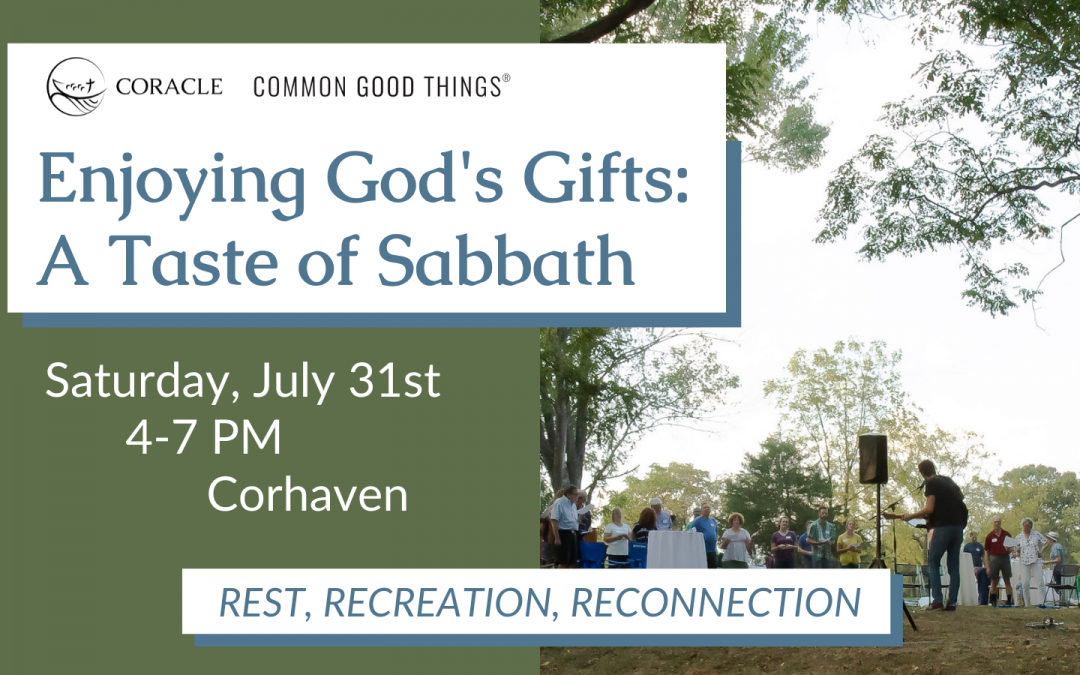 Enjoy God's Gifts with us at Corhaven!