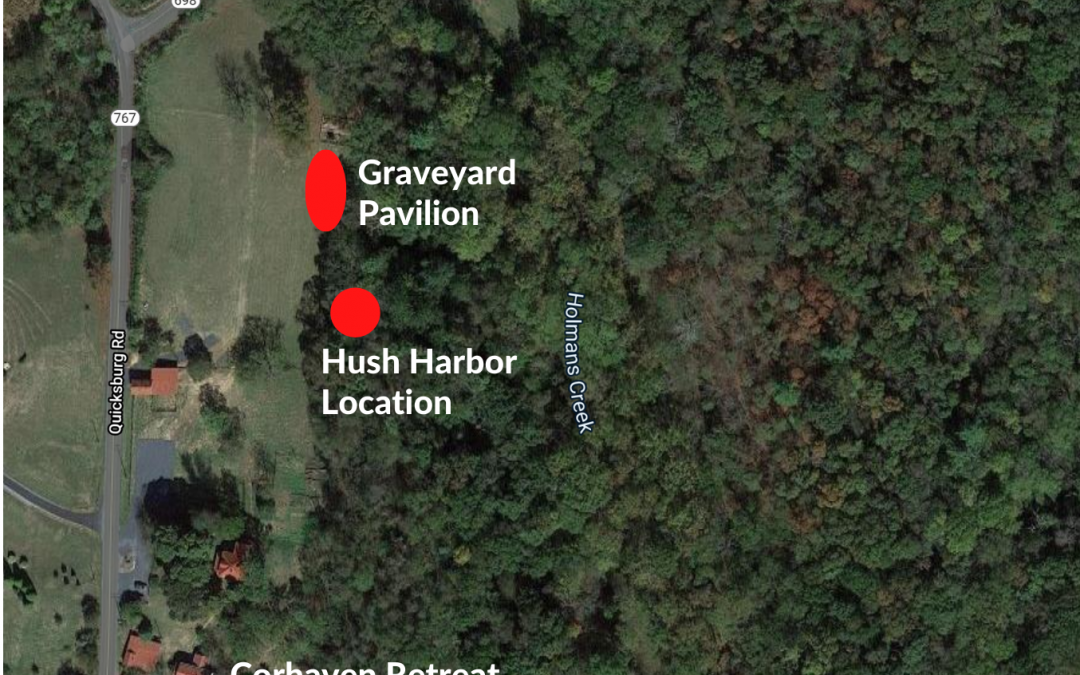 New Growth for Corhaven Graveyard: Building a Peace Pavilion & Hush Harbor Chapel