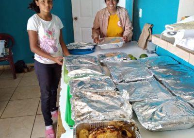 Christmas Dinners in Honduras