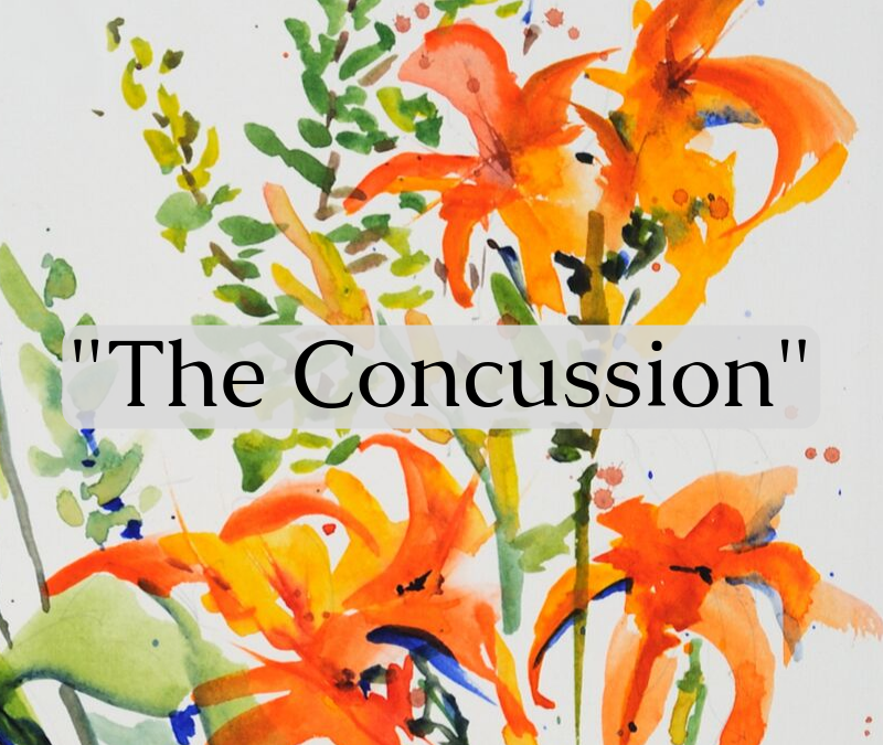 """""""The Concussion"""" a Poem by Carolyn Marshall Wright"""