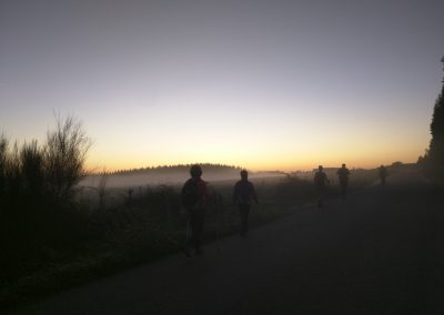 Early morning on the Camino