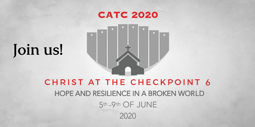 "Joining Our Palestinian Brothers and Sisters at ""Christ at the Checkpoint 2020"""