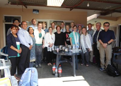 Nepal Mission Pilgrimage team - 2018