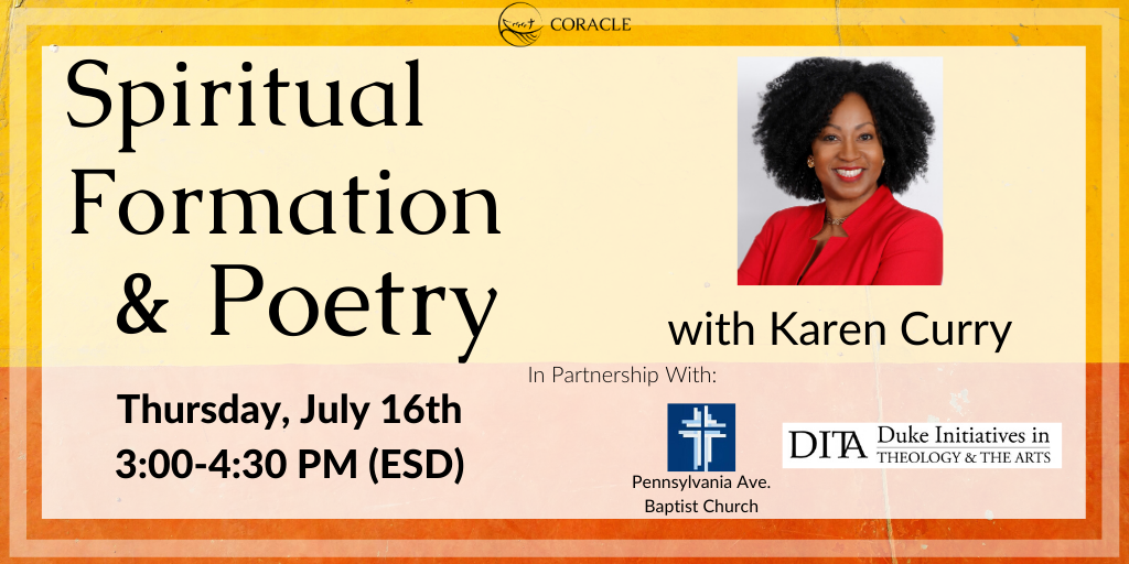 Spiritual Formation and Poetry with Karen Curry