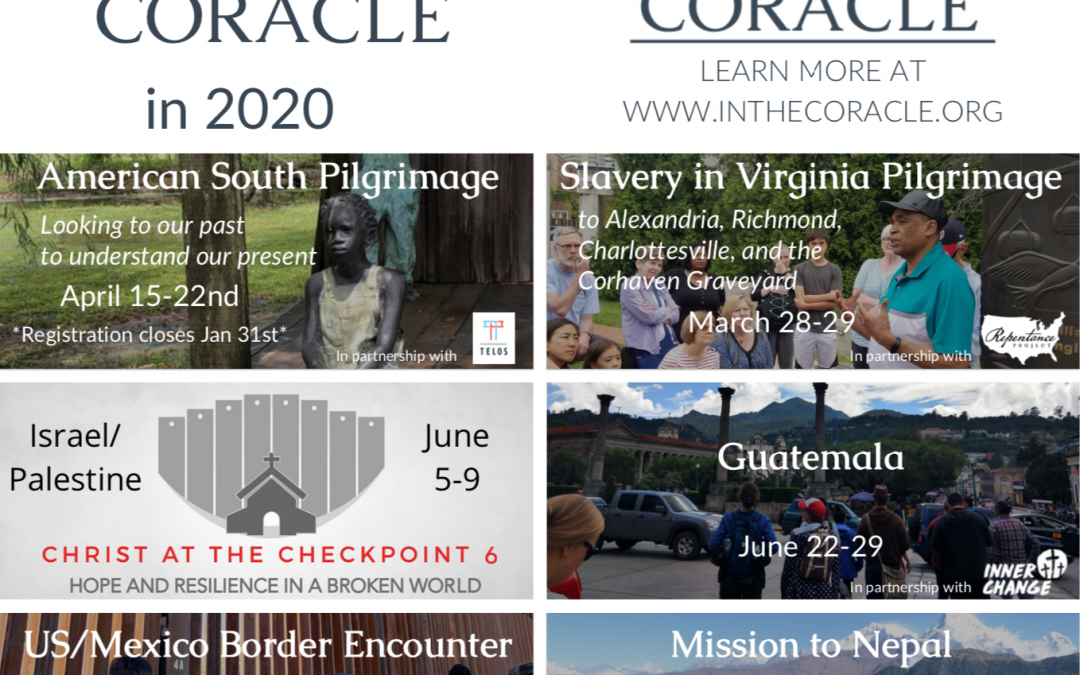 Travel with Coracle in 2020
