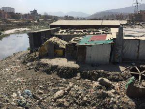 slum Nepal